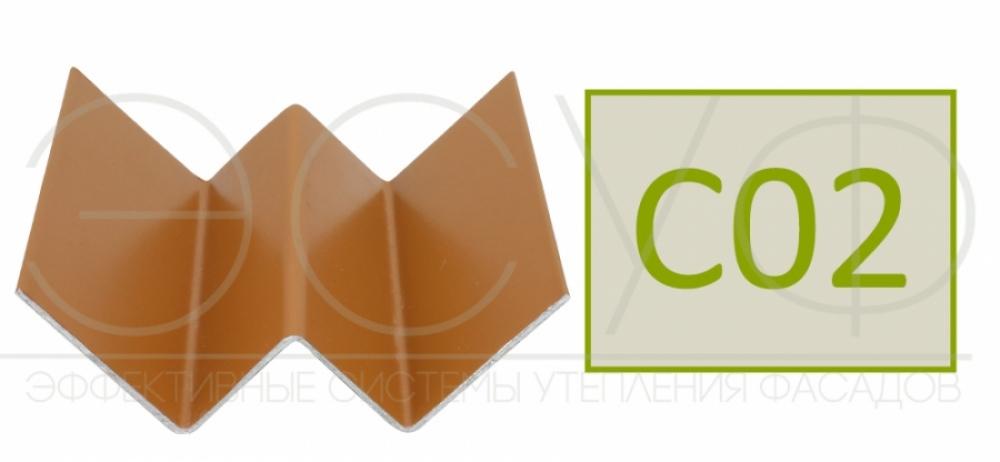 Профиль внутреннего угла Cedral C02