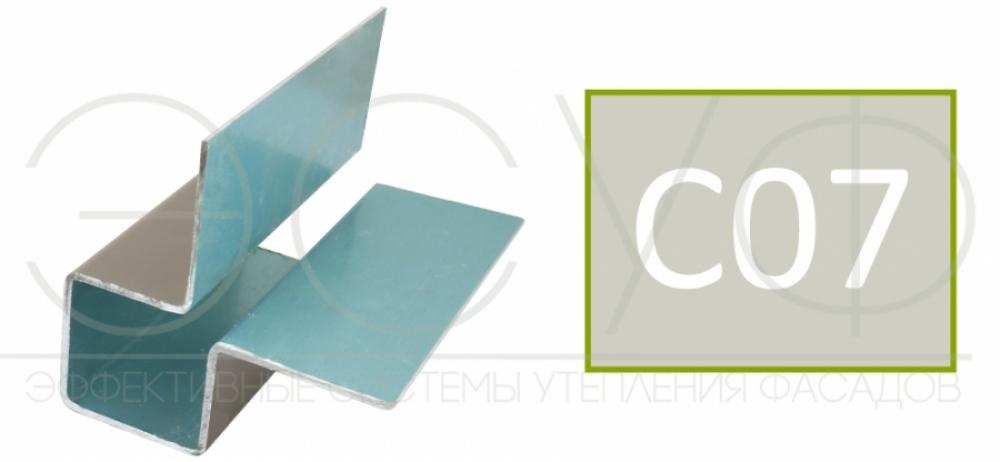 Внешний симметричный угловой профиль Cedral C07