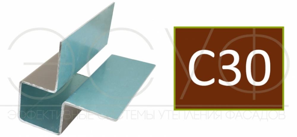 Внешний симметричный угловой профиль Cedral C30