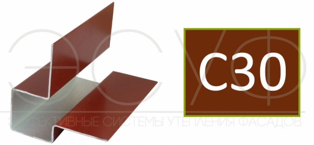 Внешний асимметричный угловой профиль Cedral C30