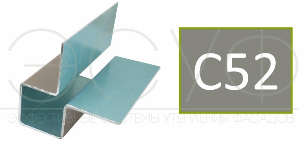 Внешний симметричный угловой профиль Cedral C52