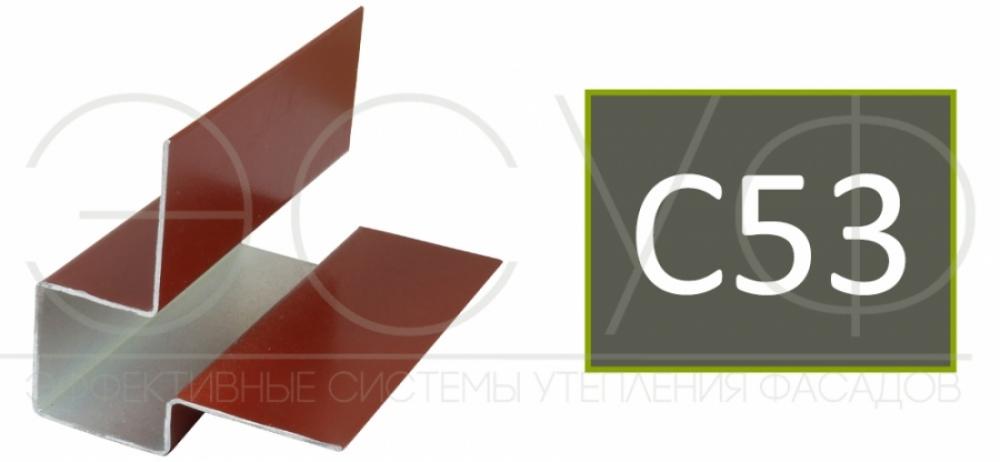 Внешний асимметричный угловой профиль Cedral C53