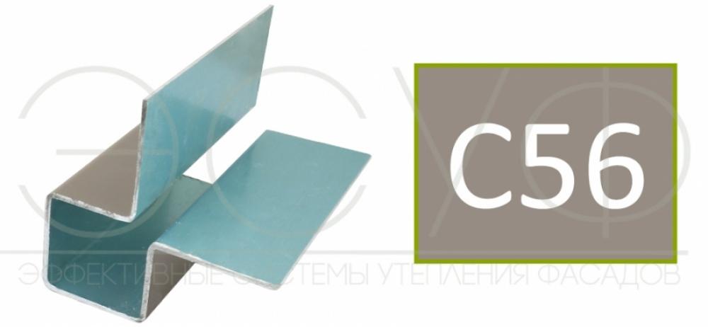 Внешний симметричный угловой профиль Cedral C56