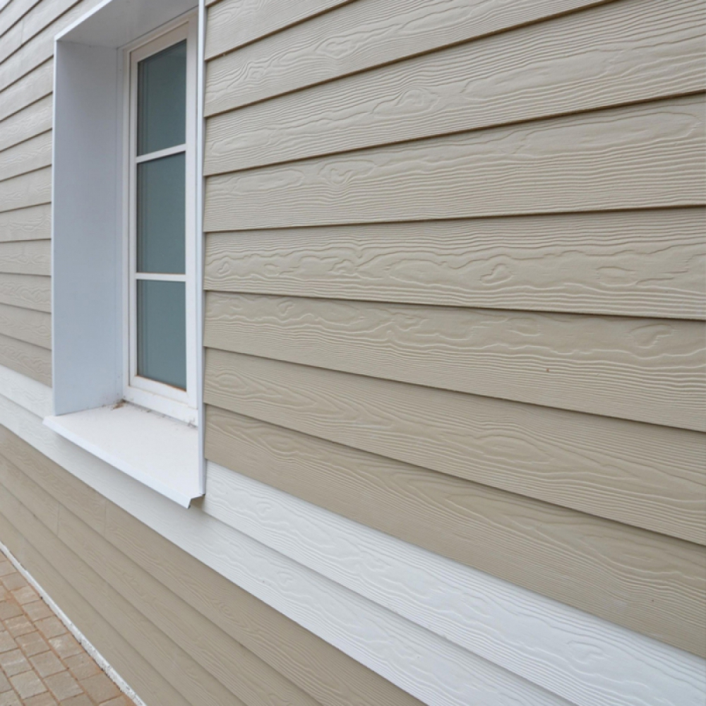 Сайдинг под дерево Cedral Click Wood C14 Белая глина