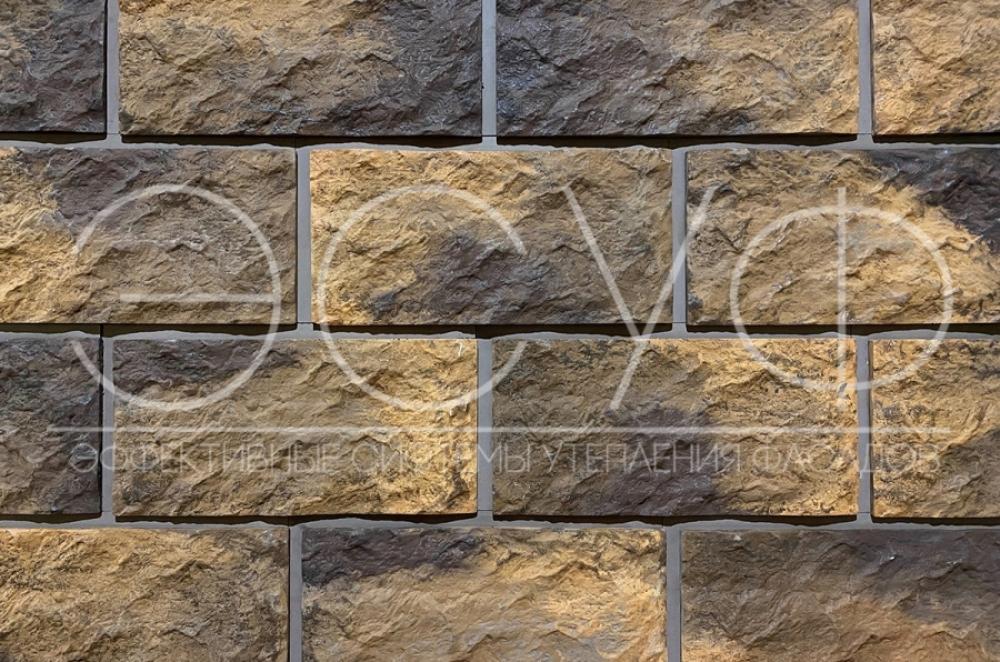 Фасадная плитка Каньон Большой сколотый камень 30