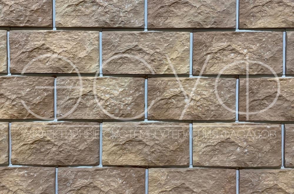 Фасадная плитка Каньон Малый сколотый камень 46