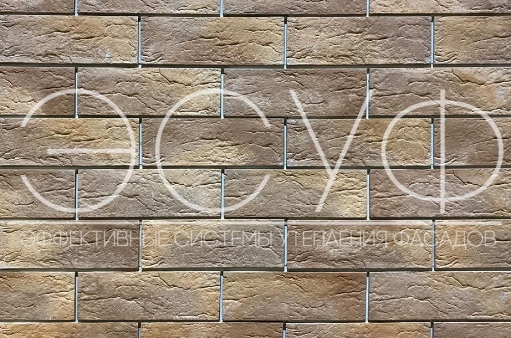 Фасадная плитка Каньон Индиго 46