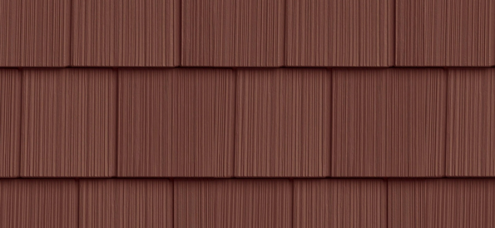 Сайдинг FOUNDRY Фактурная дранка 278 Шоколад