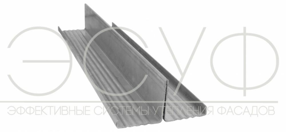 Профиль вертикальный Т-образный 80х50