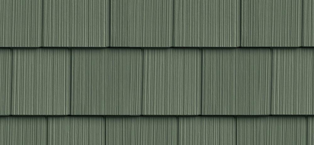 Сайдинг FOUNDRY Фактурная дранка 152 Зеленый лес