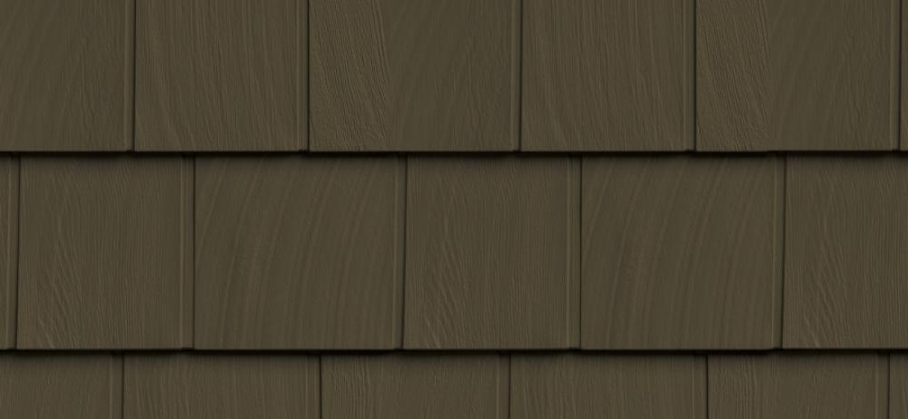 Сайдинг FOUNDRY Гладкая дранка 528 Дымчатый коричневый