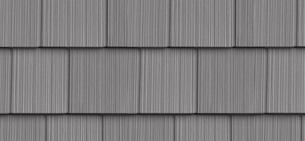 Сайдинг FOUNDRY Фактурная дранка 258 Восточный серый