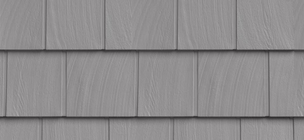 Сайдинг FOUNDRY Гладкая дранка 258 Восточный серый