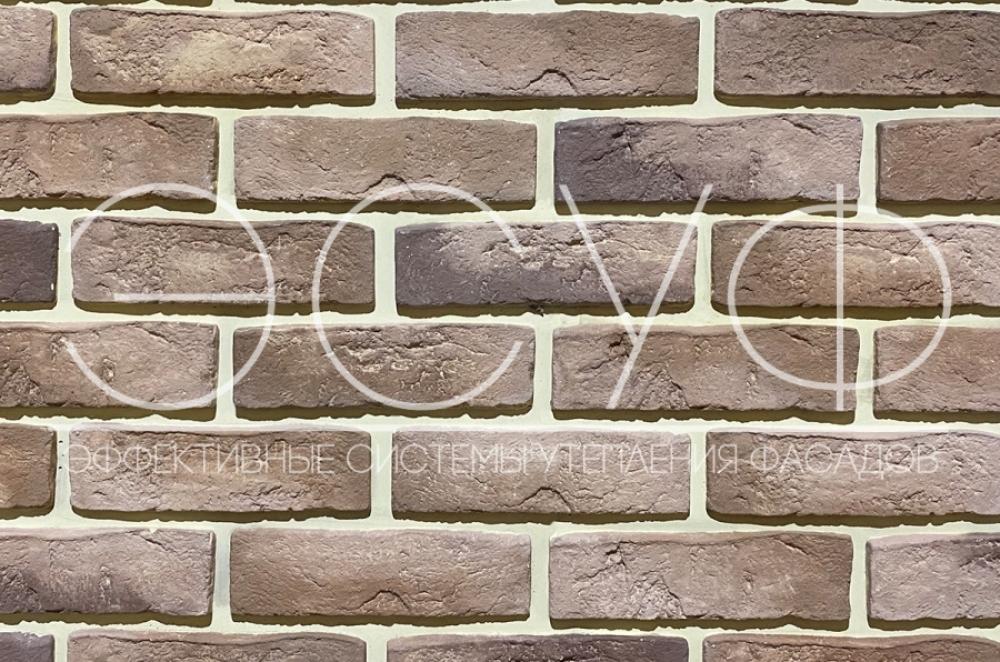 Фасадная плитка Каньон Конаковский кирпич 31