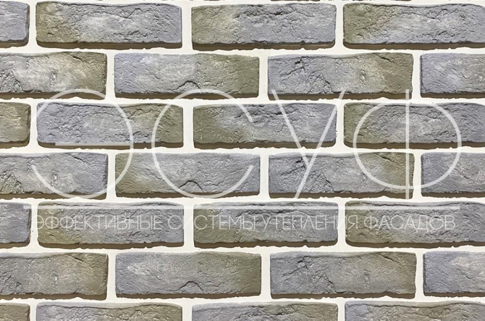 Фасадная плитка Каньон Конаковский кирпич 47