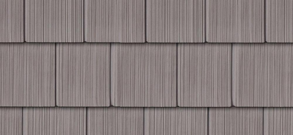 Сайдинг FOUNDRY Фактурная дранка 827 Колониальный серый