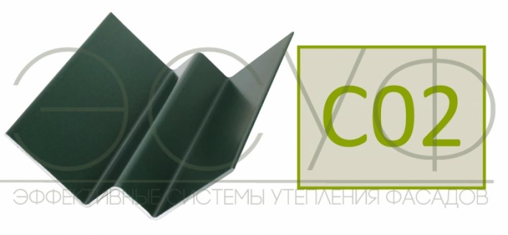 Внутренний угловой профиль Cedral Click C02 Солнечный лес