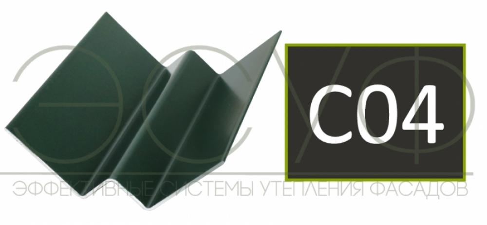 Внутренний угловой профиль Cedral Click C04 Ночной лес