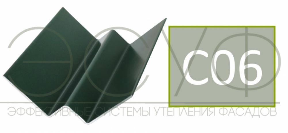 Внутренний угловой профиль Cedral Click C06 Дождливый океан