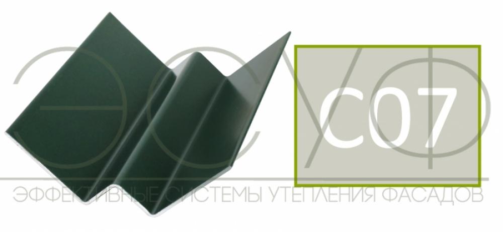 Внутренний угловой профиль Cedral Click C07 Зимний лес