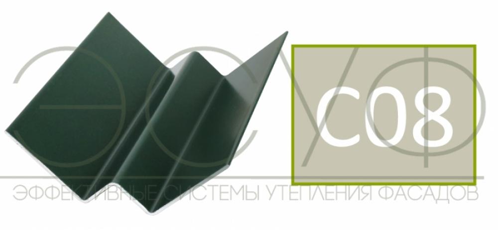 Внутренний угловой профиль Cedral Click C08 Березовая роща