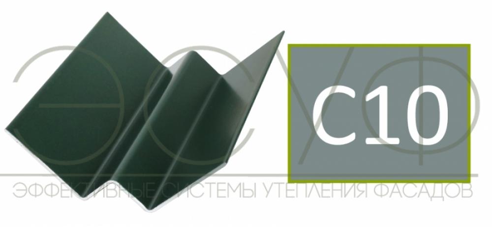 Внутренний угловой профиль Cedral Click C10 Прозрачный океан