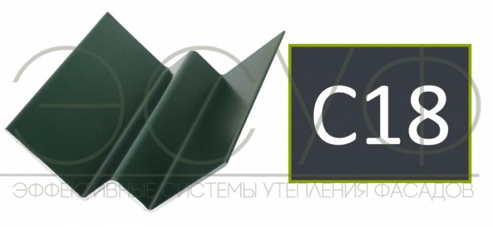 Внутренний угловой профиль Cedral Click C18 Ночной океан