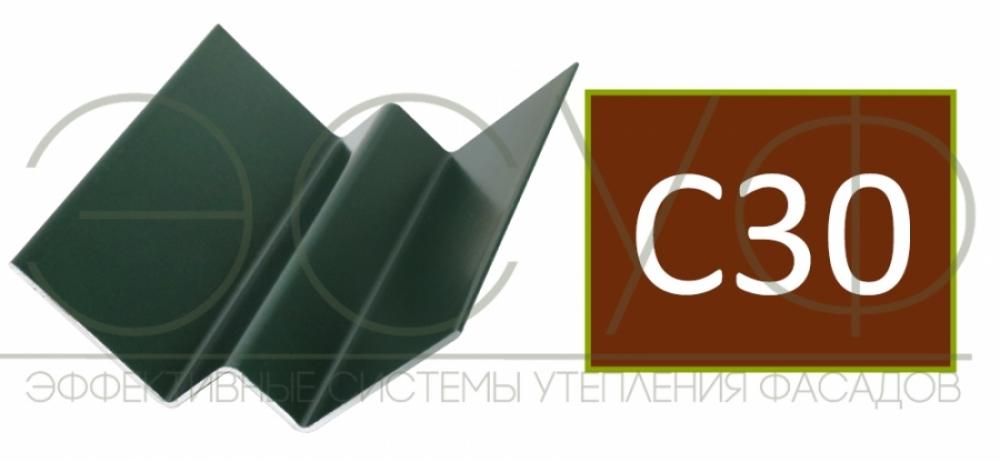Внутренний угловой профиль Cedral Click C30 Теплая земля
