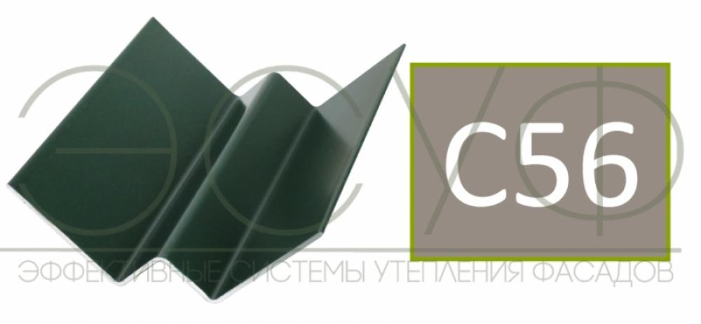 Внутренний угловой профиль Cedral Click C56 Прохладный минерал