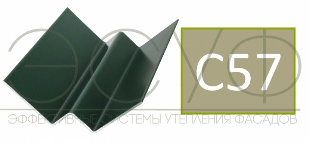 Внутренний угловой профиль Cedral Click C57 Весенний лес