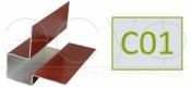 Внешний асимметричный угловой профиль Cedral C01