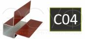 Внешний асимметричный угловой профиль Cedral C04