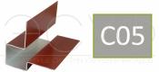 Внешний асимметричный угловой профиль Cedral C05