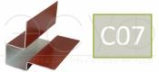 Внешний асимметричный угловой профиль Cedral C07