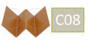 Профиль внутреннего угла Cedral C08