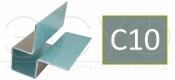 Внешний симметричный угловой профиль Cedral C10
