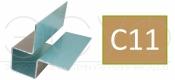 Внешний симметричный угловой профиль Cedral C11