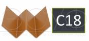 Профиль внутреннего угла Cedral C18