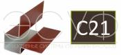 Внешний асимметричный угловой профиль Cedral C21