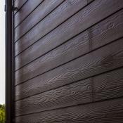 Сайдинг под дерево Cedral Click Wood C21 Коричневая глина