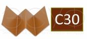 Профиль внутреннего угла Cedral C30