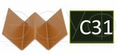 Профиль внутреннего угла Cedral C31