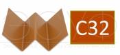 Профиль внутреннего угла Cedral C32