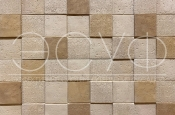 Фасадная плитка Каньон 3D-мозайка 68