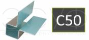 Внешний симметричный угловой профиль Cedral C50