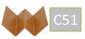 Профиль внутреннего угла Cedral C51