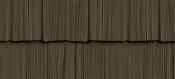 Сайдинг FOUNDRY Щепа Рваный край 528 Дымчатый коричневый