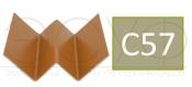 Профиль внутреннего угла Cedral C57