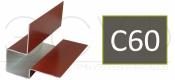 Внешний асимметричный угловой профиль Cedral C60