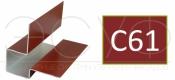 Внешний асимметричный угловой профиль Cedral C61